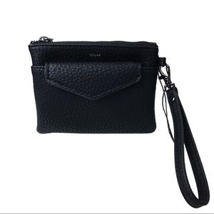 NWT COLAB Wristlet Wallet with removable pouch